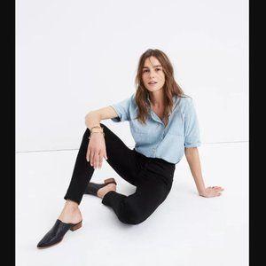 "10"" High Rise Skinny Jeans Black - Madewell"